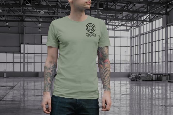 OPS Tshirt Mockup