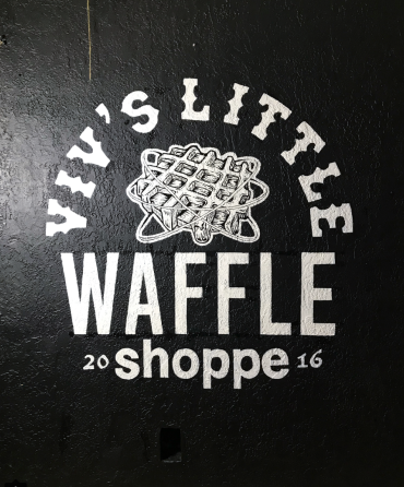 Shoppe Signage - Hand Painted Mural
