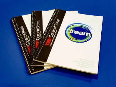 Spiral Bound Program Booklet